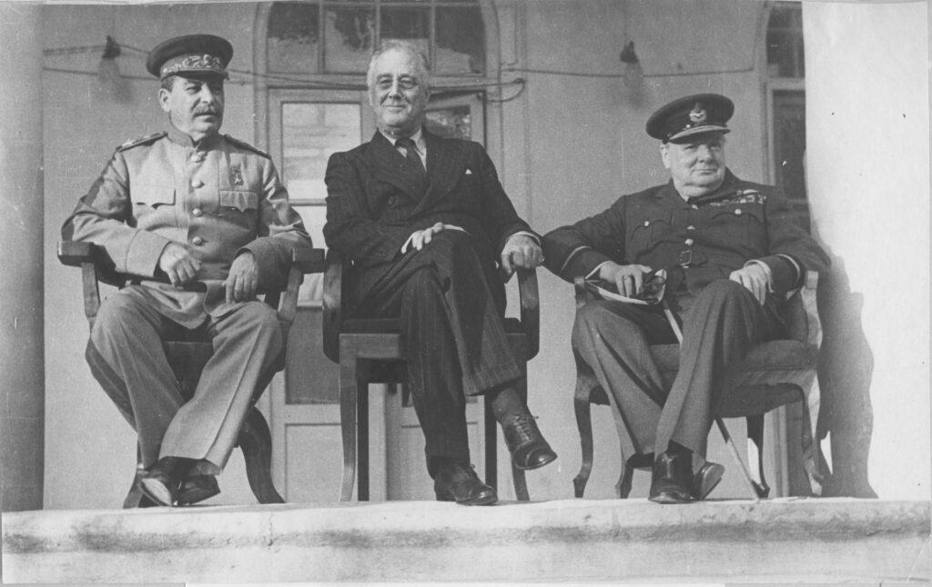 28 ноября 1943 года началась Тегеранская конференция руководителей СССР, США и Великобритании