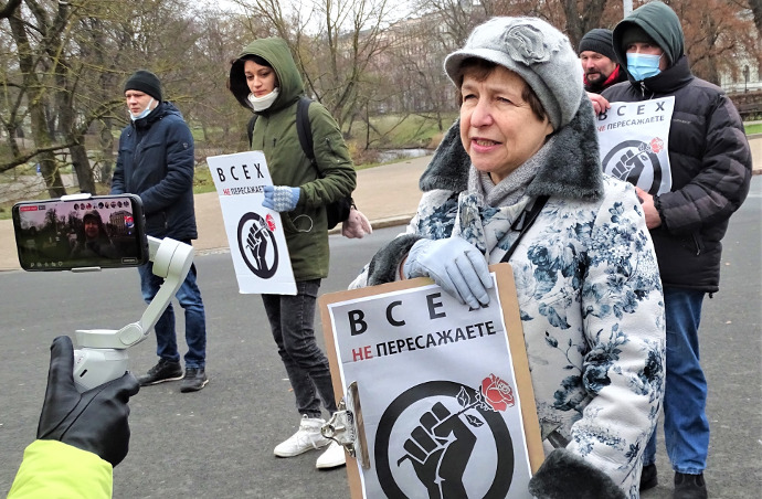 В Латвии открыли сезон охоты на русских журналистов. (Алла Березовская)