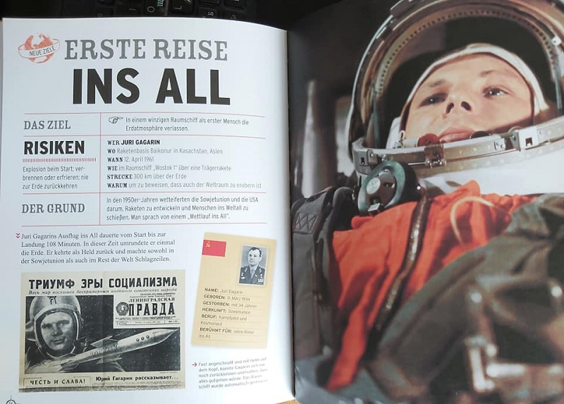 Гагарин-60. До старта Гагарина — 10 дней. Как показали этот полет немецкие издатели